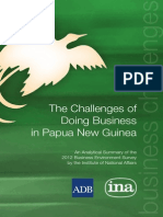 The Challenges of Doing Business in Papua New Guinea (2014)