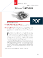 1st Quarter 2014 Lesson 8 With the Rich and Famous Teachers' Edition