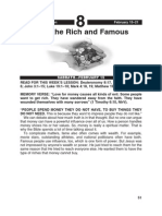 1st Quarter 2014 Lesson 8 With the Rich and Famous Easy Reading Edition