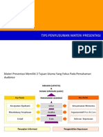 Tips Penyusunan Presentasi ISTN Cikini