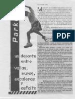 Reportaje PARKOUR