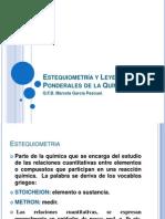 Química_Estequiometría y Leyes Ponderales