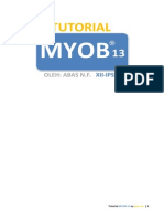 Tutorial MYOB 13