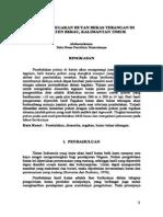 Dinamika Tegakan Hutan Bekas Tebangan Di Kabupaten Berau, Kalimantan Timur