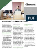 Procurement Cloud Process Solution