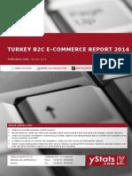 Turkey B2C E-Commerce Report 2014_Standard_by yStats