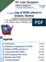 Harihar RCM Presentation for ARS_India_Narayan Rao