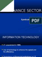 It in Finance Sector