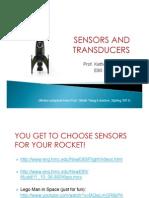Sensors and Transducers 2012