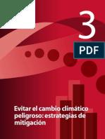 Chapter3 - Evitar El Cambio Climatico Peligroso - Estrategias de Mitigacion