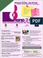 Cartel Actividades 8 Marzo 2014