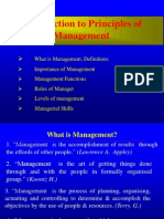 Nature & Function of Mgmt.