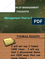 Managemnent Thoughts (Ses 5 6)