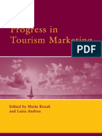 Progress in Tourism Marketing