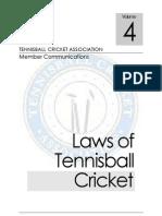 Tennisball Laws Tca Ver.4