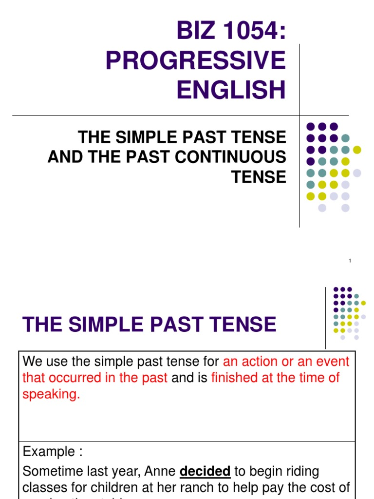 to pay past tense