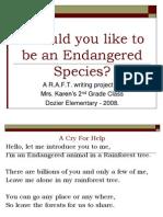 Endangered Species P.P. Karen Schex