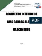 Regimento Interno CMS CAN 2014