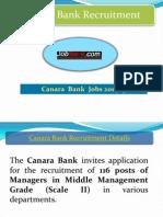 Canara Bank Recruitment 2014 at JOBDILADO.in