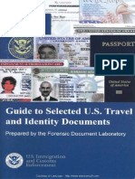 Guide to selected US Travel and Identity documents.
