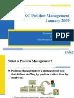 Position Mgmt Umkc Jan 09