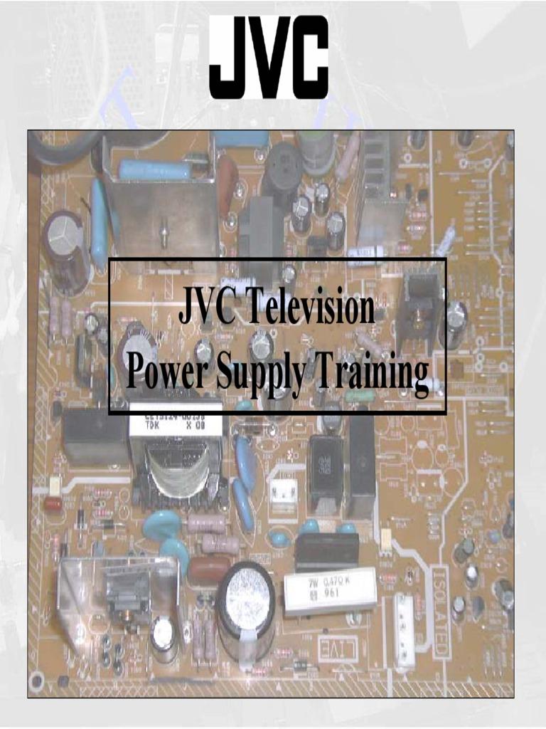 Cool Jvc Tv Power Supply Training Guide Power Supply Rectifier Wiring 101 Mecadwellnesstrialsorg