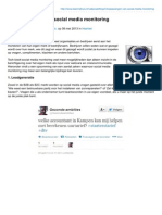Teamnijhuis.nl-3 Toepassingen Van Social Media Monitoring