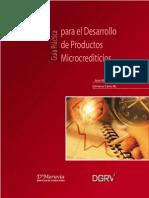 Guia+Practica+Para+Desarrollo+de+Productos+Microcrediticios