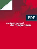 Catalogo General de Maquinaria