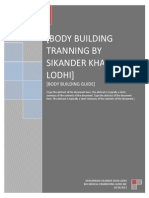 Body Building Guide 3rd Edition by mohammad sikandar khan lodhi