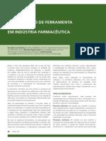 Implantação de ferramenta em batelada em indústria farmacêutica