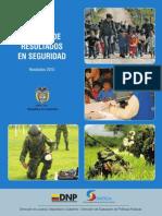 Resultados Defensa 2010