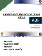 Propiedades Reologicas de Las Rocas
