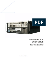 OP5600 Simulator User Manual