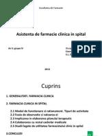 Asistenta Clinica de Farmacie Gr.4,2