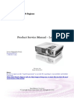 Benq W 1070 Service Manual