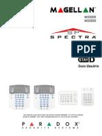 Manual do usuário - alarme Magellan MG e Spectra SP Paradox