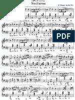 Chopin Nocturne Op 55 No 1