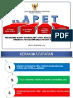 Koordinasi Teknis Kebijakan Penguatan Kawasan Pengembangan Ekonomi Terpadu