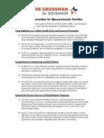 Steve Grossman on Safer Communities for Massachusetts Families