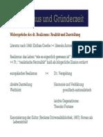 Realismus und Gründerzeit [Compatibility Mode]