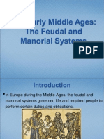 the early middle ages-the feudal and manorial systems ppt
