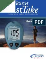 Lifescan Fasttake User Guide