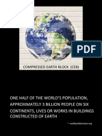 Compressed Earth Block