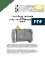 KAS Technical Specification Installation Horizontal Valve Fl 8HF