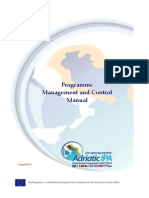 Programme Management and Control Manual