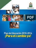 Plan Educacion 2010 2014