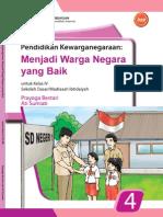 SD Kelas 4 - Pendidikan Kewarganegaraan - Menjadi Warga Negara yang Baik