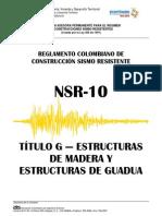 Titulo G NSR 10