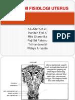 Anatomi Fisiologi Uterus